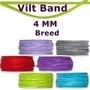 Vilt band 4 mm breed