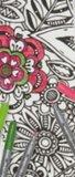 DIY Inkleur lint 'FLowers' _