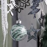 DIY Kerstballen, 8 cm, 6 st. per verpakking_