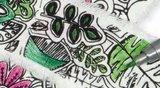 DIY Inkleur lint 'Leaves' _