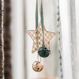 Kerstbellen Mix Groen, 3 cm_
