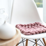 Knitted Tubes, Roze, 100gram_