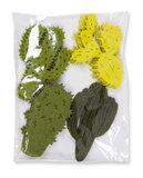 Vilt Cactussen, Lime Groen/Groen, 16 stuks per verpakking_