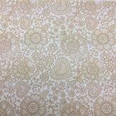 Vilt lap met kanten bloemen print beige 30 x 40 cm per lap