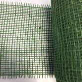 Jute groen ca.15 cm breed 25 cm lang per stuk