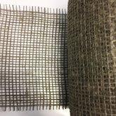 Jute taupe grijs ca. 15 cm breed 25 cm lang per stuk