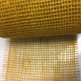 Jute oker geel ca. 15 cm breed 25 cm lang per stuk