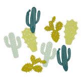 Vilt Cactussen, Mint/Groen, 16 stuks per verpakking