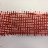 Jute rood 5 cm breed 1 meter lang per zak