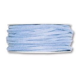 Vilt band 4 mm x 15 meter op rol, Licht Blauw