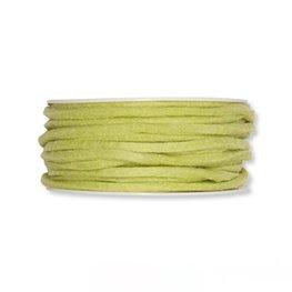 Vilt band 4 mm x 15 meter op rol, Pastel Groen