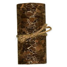 Kurk op stof, Bruin, 8cm x 2 meter