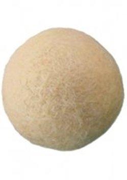 Viltballen huidskleur 45 mm doorsnee 1 stuks per zakje