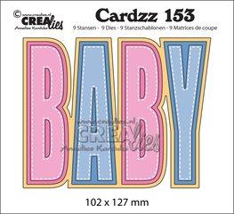 Crealies Cardzz snijmal Baby