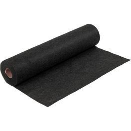 Zwart Gemêleerd, 45 cm x 5 meter
