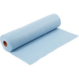 Licht Blauw, 45 cm x 5 meter