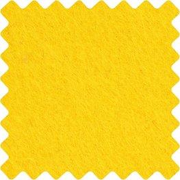 Vilt 3 mm Geel 42 x 60 cm