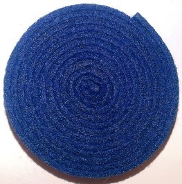 Vilt band op rol 4 cm breed 1,5 meter lang nachtblauw