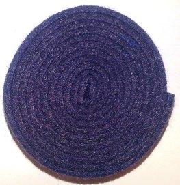 Vilt band op rol 4 cm breed 1,5 meter lang pruim