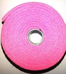 Vilt band op rol 4 cm breed 1,5 meter lang licht roze