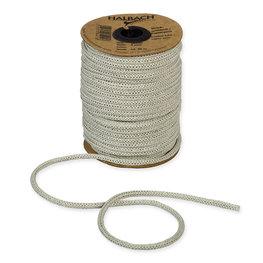 Knitted Paper Yarn Tubes, Groen Linnen, per rol