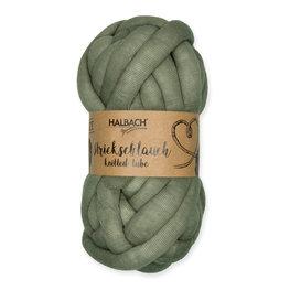 Knitted Tubes, Groen, 100gram