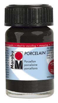 Marabu porseleinverf zwart 15 ml