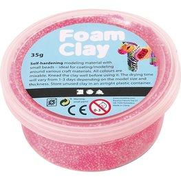 Foam clay neon roze 35 gram