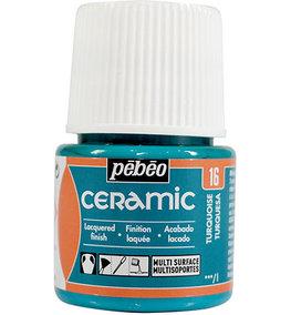 Pebeo Ceramic Turquoise 45 ml