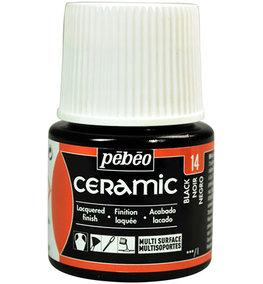 Pebeo Ceramic black 45 ml