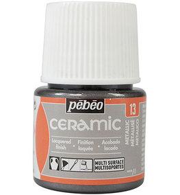 Pebeo Ceramic Metallic 45 ml