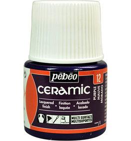 Pebeo Ceramic Purple 45 ml