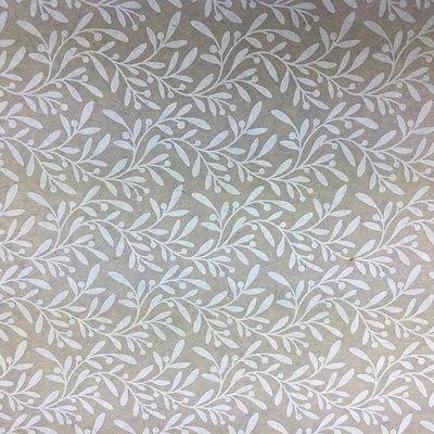 Vilt lapje olijf print beige 30 x 40 cm per lapje