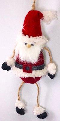 DIY pakket hanger Kerstman