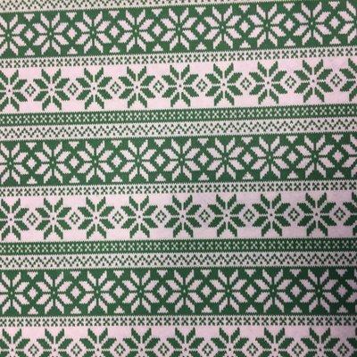 Vilt Lapje 30 x 40 cm, Noorse print groen