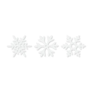 Vilt ijs kristallen wit 6 stuks per zakje