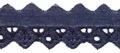 Broderie donkerblauw 25 mm breed