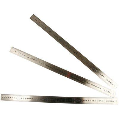 Liniaal ijzer 50 cm lang per stuk