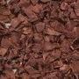 Strikje satijn bruin 20 x 25 cm 10 stuks