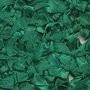 Strikje satijn donker groen 20 x 25 cm per stuk