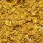Strikje satijn okergeel 20 x 25 cm 10 stuks per zakje