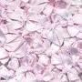 Strikje satijn licht roze 20 x 25 cm 10 stuks