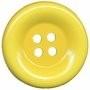 Knoop groot geel 50 mm per stuk