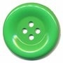 Knoop groot groen 50 mm per stuk