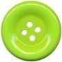 Knoop groot fel groen 50 mm per stuk