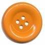 Knoop groot oranje 50 mm per stuk