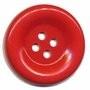 Knoop groot rood 50 mm per stuk