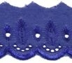 Broderie donkerblauw 50 mm breed