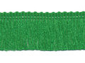 Franje band groen 30 mm breed, per meter