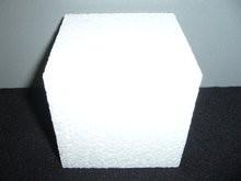 Piepschuim kubus 10 x 10 cm